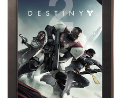 Quadro Poster C.moldura Destiny 2 Playstation 4 Xbox One