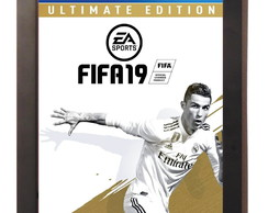 Quadro Poster C.moldura Fifa 19 Playstation 4 Xbox One