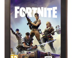 Quadro Poster C.moldura Fortnite Playstation 4 Xbox One