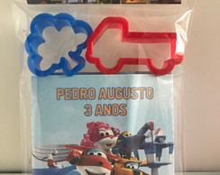 Massinha de Modelar Personalizada Super Wings