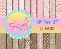 Kit Papel Digital 17
