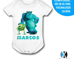 Body Infantil Monstros S.A