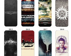 Capa Capinha Case - Supernatural - Galaxy Note 2 3 4 5