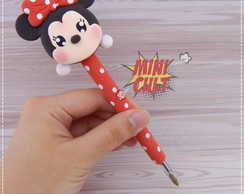 Caneta Decorada Minnie Tsum-tsum
