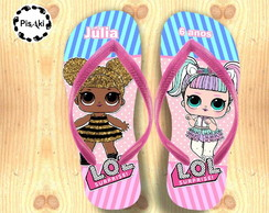 CHINELO PERSONALIZADO LOL SURPRISE - Infantil