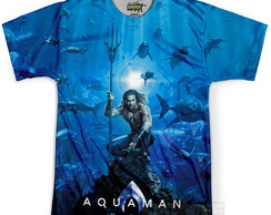 Camiseta Masculina Aquaman MD02