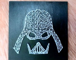 Quadro Darth Vader String Art Geek