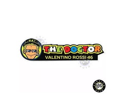 Adesivo The Doctor Valentino Rossi 46 Cartoon