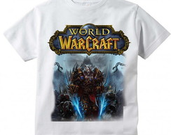 Camiseta Infantil World of Warcraft Worgen