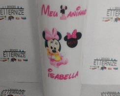 ( MINNIE ) COPO LONG DRINK PERSONALIZADO
