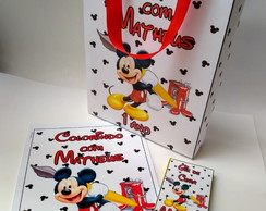 Kit Colorir Mickey com sacola