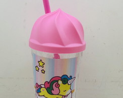 copo chantilly unicornio