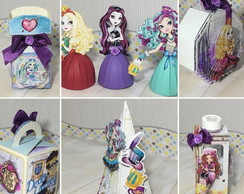 Arquivo Corte Silhouette Ever After High- Outubro