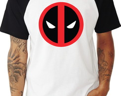 Camiseta Deadpool Raglan