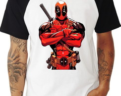 Camiseta Deadpool Raglan 03