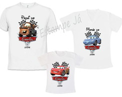 Camisetas dos Carros Disney Camiseta do Mcqueen