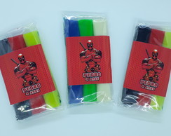 Massinha Personalizada Deadpool