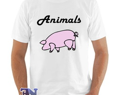 Camiseta Pink Floyd Álbum Animals Roger Waters David Gilmour