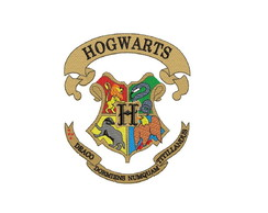 Matriz bordado Computadorizado HOGWARTS HARRY POTTER