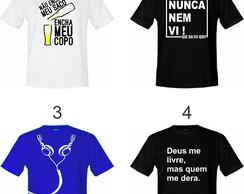 cabc718fea ... Kit 3 Camisetas Adulto Vários Modelos - Escolha Já A Sua !