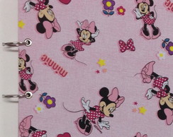 Caderno Argolado Universitário Minnie