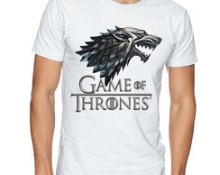 Camiseta Camisa Game of Thrones / Lobo