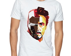 Camiseta Camisa Tony Stark and homem de ferro art.