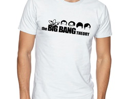 Camiseta Camisa Logo The Big Bang Theory