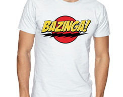 Camiseta Camisa Bazinga! The Big Bang Theory