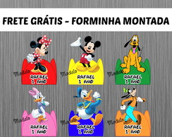 102 Forminhas Turma do Mickey