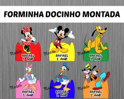 Forminha Turma do Mickey