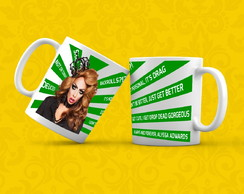 Caneca - RuPaul's Drag Race - Alyssa Edwards