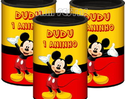 Cofrinho Personalizado Mickey / Minnie