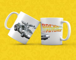 Caneca - Back To The Future - De Volta Para o Futuro