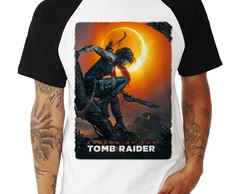 Camiseta Raglan Shadow of the Tomb Raider