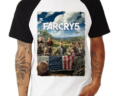 Camiseta Raglan Far Cry 5