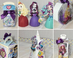 Arquivo Corte Kit Silhouette Ever After High