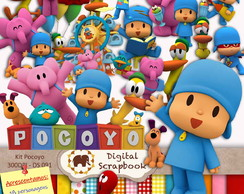 Kit Scrap Digital - Pocoyo