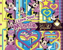 Scrapbook Digital Minnie Mouse