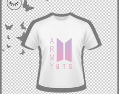 Estampa camisa BTS (Arte Digital)