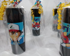 Pokemon copos long drink personalizados e embalados 10 unid