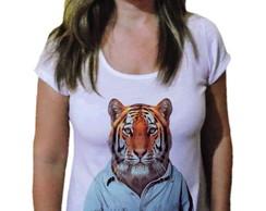 5d732bd32eaa4 ... Camiseta Feminina Tigre 12 - 21 camiseteria