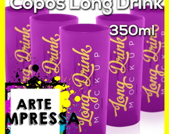 Copos Long Drink Kit 100 unidades
