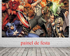 painel avengers comic