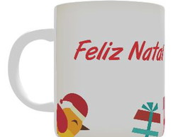 Caneca Personalizada - Presentes do Papai Noel
