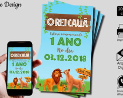 SAVE THE DATE REI LEÃO