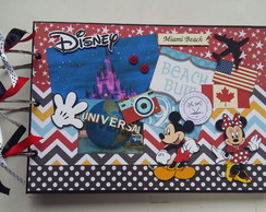 Álbum Scrapbook Disneylandia Mickey