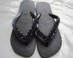 HAVAIANAS TOP BORDADA FURTACOR + EMBALAG