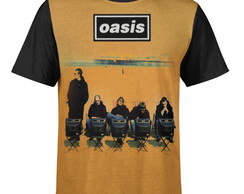 Camiseta masculina Oasis Estampa digital md01