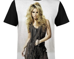 Camiseta masculina Shakira Estampa digital md02